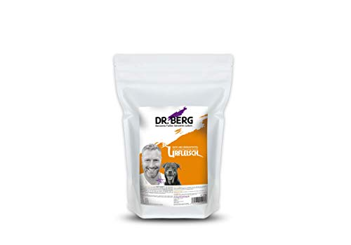 Dr. Berg URFLEISCH Ente & Süßkartoffel - Getreidefreies, hypoallergenes Hundefutter - Trockenfutter mit viel FRISCHFLEISCH - extra verträglich und lecker durch natürliche Zutaten (1 kg)