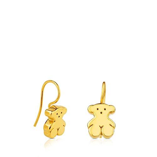 TOUS Women's Sweet Dolls Gold Stud Earrings