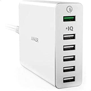 Anker Power 6 Port with Quick Charge 3.0 Wall Charger For Mobile Phones - A2063K21