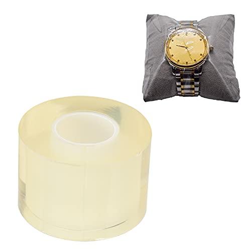 Cinta antiestática, película protectora para relojes, caucho natural, herramienta profesional de reparación de relojes, película protectora para joyería, para el cuidado(1.96 inch width (5 cm))