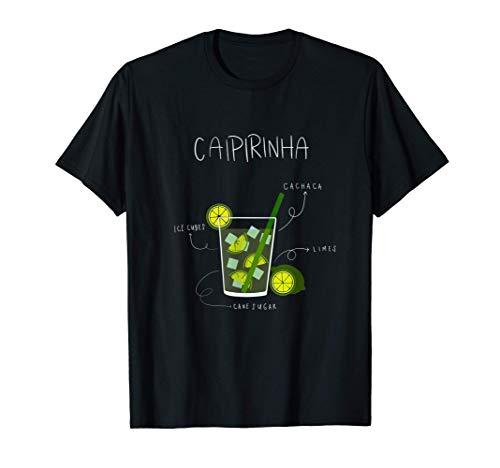 Caipirinha I Cocktail I Alkohol I Limette I Geschenk T-Shirt