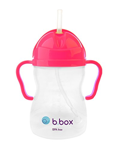 B Box Pink Pomegrante Sippy Cup Limited Edition by Bbox