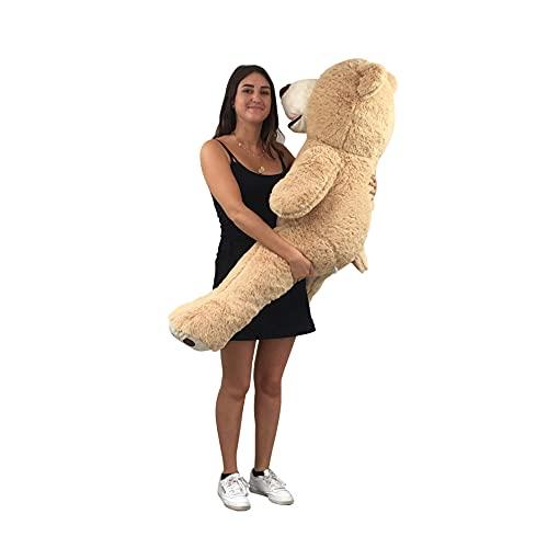 orso peluche gigante 250 cm Bananair Orsacchiotto XXL Gigante (da 130 cm a 200 cm) Orso de Peluche Teddy Bear Peluche Morbida