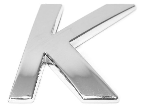 Eufab 30321 3d-letter K Car-logo