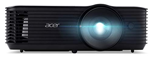 Acer X128HP DLP Beamer (XGA (1.024 x 768 Pixel) 4.000 ANSI Lumen, 20.000:1 Kontrast, 3D, Keystone, 3 Watt Lautsprecher, HDMI (HDCP), Audio Anschluss) Home Cinema / Business, MR.JR811.00Y