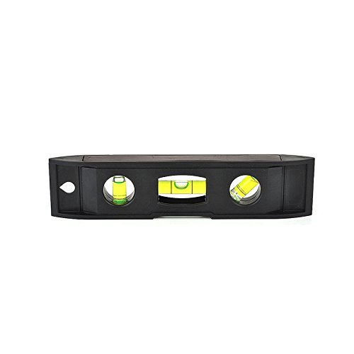 Magnetic Torpedo Level, Spirit Level 3 Bubble Level Torpedo Magnetic Level Bubble Measuring Tool (6 inch)