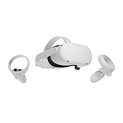 Oculus Quest 2 — Advanced All-In-One Virtual Reality Headset — 64 GB (UK Model)