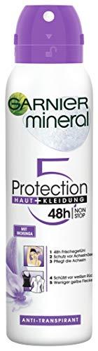 Garnier Mineral Protection 5 Deo Spray, 150 ml