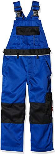 Engelbert Strauss Kinder Latzhose e.s. image, Größe: 110/116 - 4/6 Jahre, Farbe: kornblau/schwarz