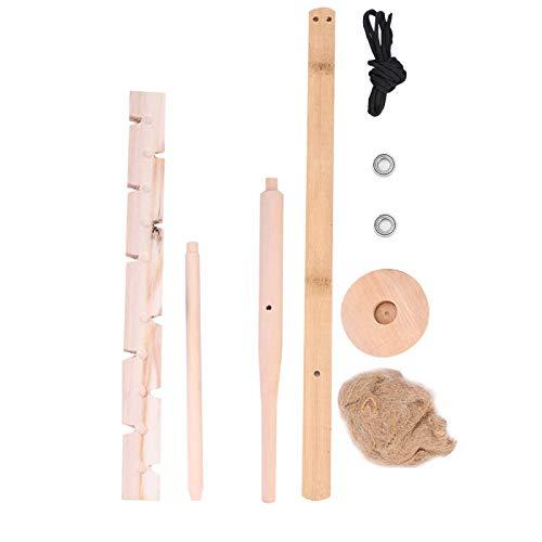 FOLOSAFENAR Friction Fire Starter Set Wood Drilling Fire Starter Kit Survival ignitor Kit,for Survival