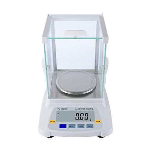 ZCY 0,01 g laboratoriumanalyse, elektronische weegschaal, nauwkeurige weegschaal, met LCD, 8 eenheden, glasplaat, sieraden, industrieel gewicht, weegschaal, druk & functieeenheden ES1008 600g/0.01g