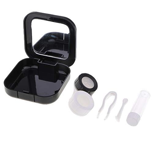 Sharplace Kontaktlinsen Behälter Aufbewahrungsbehälter Linsenbehälter für Reisen