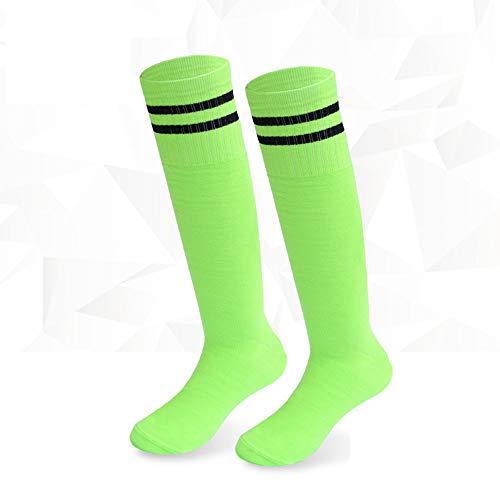 Voetbal Sokken for mannen, lange sokken, over de knie Sport Sokken, Antislip Pressure Socks