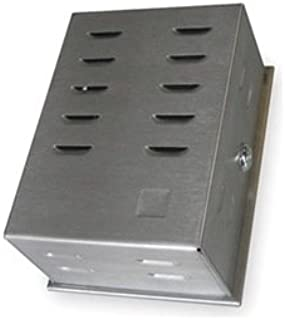Stainless Steel Locking Thermostat Guard Enclosure, 2EWF1
