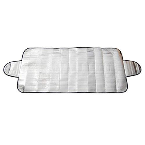 C-J-Xin Auto Externe zonneklep, Hot Summer Anti-UV Zonnescherm, Portable Anti-diefstal auto Cover, Gebruikt in All Weather 70 * 150cm Car Schaduw van de Zon (Color : Silver, Size : 70 * 150CM)