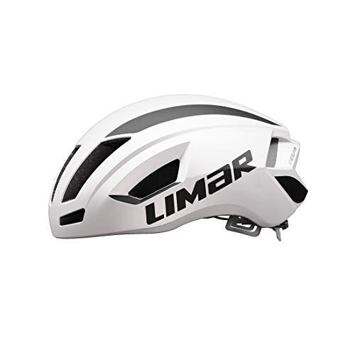 Limar Unisex– Erwachsene Air Speed Fahrradhelm, weiß, M
