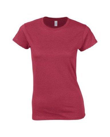 Gildan 64000L Softstyle Womens Ringspun T-Shirt Antique Cherry Red 2XL