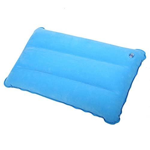 Almohada inflable, Almohadas de viaje inflables ultraligeras, Almohada inflable para acampar, Almohada inflable informal plegable portátil para exteriores para acampar Escalada Senderismo(Cielo azul)