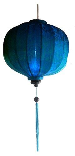 Vietnamese Oosterse zijde bamboe handgemaakte lantaarn lamp Chinese 9-20