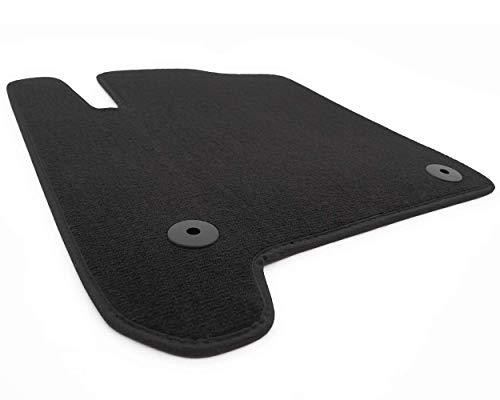 Fußmatte Meriva A Velours Fahrermatte schwarz einzeln Automatte Fahrerseite, inkl. Original Befestigung