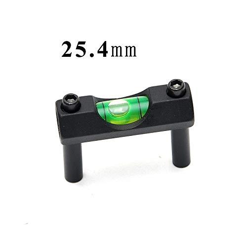 LSHBAO-HUNT, Taktische Zielfernrohr Laser Wasserwaage für 30mm Zielfernrohr Schiene Ring Laser Zielfernrohr Montieren Ringe Jagd Zubehör (Color : 1inch)