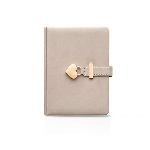 MARSACE Carnet de Notes PU Filles Journal Intime Avec Serrure Pages Vierges Bloc-notes Créatif Notebook Relié...