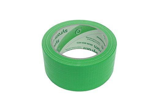 takestop® Nastro Americano Verde TELATO Resistente 50 MM X 25 MT EXTRAFORTE Impermeabile Sigilla RIPARA IMBALLA SYR_8451