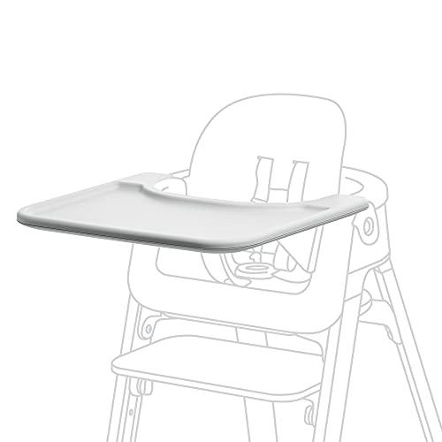 STOKKE® Steps™ Baby Set Tray – Aufsteck-Tablett für Babys und Kinder – Passt auf den STOKKE® Steps™ Stuhl – Farbe: White