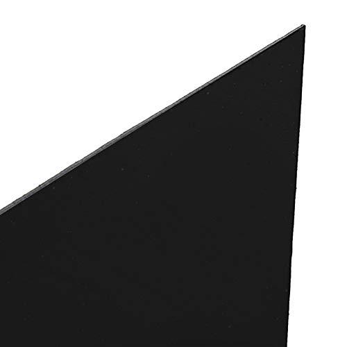 Spegelväggdekor, återanvändbara självhäftande DIY-väggdekaler, sovsalar Handla hemma(Black large)