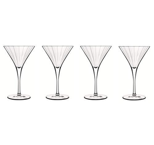Bormioli Confezione 4 Calici Martini, 26 cl, 4 unità