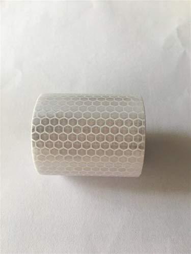 BoaInx Sicherheitswarnung 5cmx3m reflektierenden Stoff Reflexfolie Reflective Klebeband Auto Auto-Film-Kristall Honeycomb 30mm Reflektierendes Warnband (Color : B)