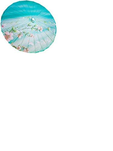 GODHL Bambù cinese orientale ombrello parasole danza classica ombrello Peach Blossom