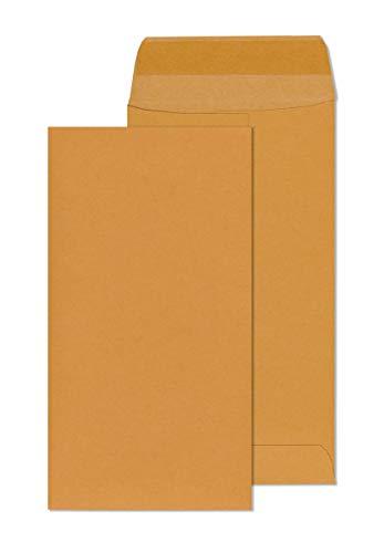 7 Coin Envelopes – 3.5 x 6.5 White #7 Mini Envelope Pack with...