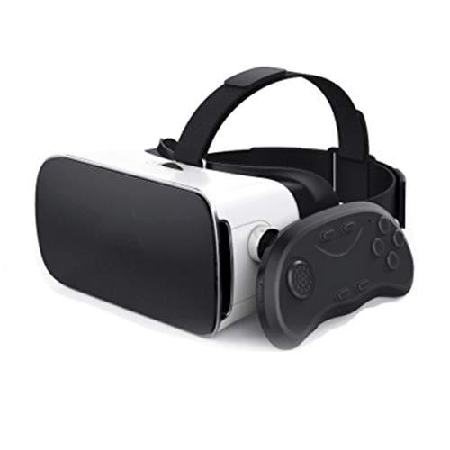 LIUZH Auriculares de realidad virtual 3D Vr, VR para películas 3D VR y videojuegos para iPhone 12/11/X/8/7/6 para Samsung S10/S9/Note10/9 teléfonos Android 4.7-6.8 pulgadas, H032ZJ