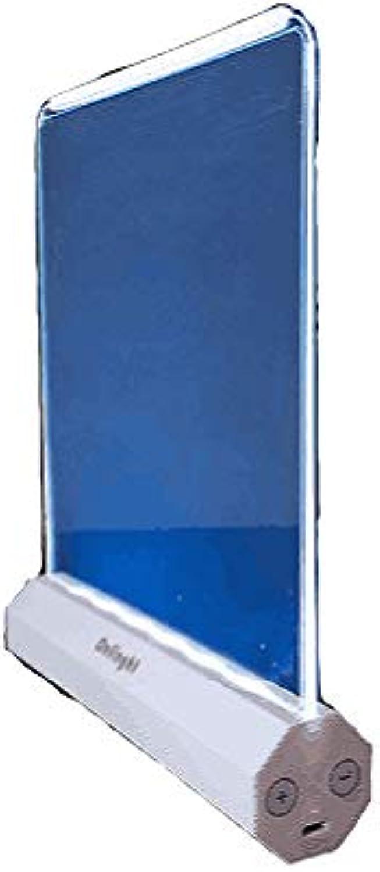 GCCLCF Flache Augenschutz-Leselampe Schlafsaal-Tischlampe Mehrzweck-Flachleselampe