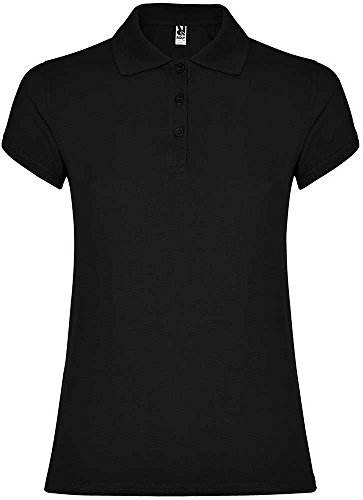 Roly Star Woman Poloshirt Black 02 XXL