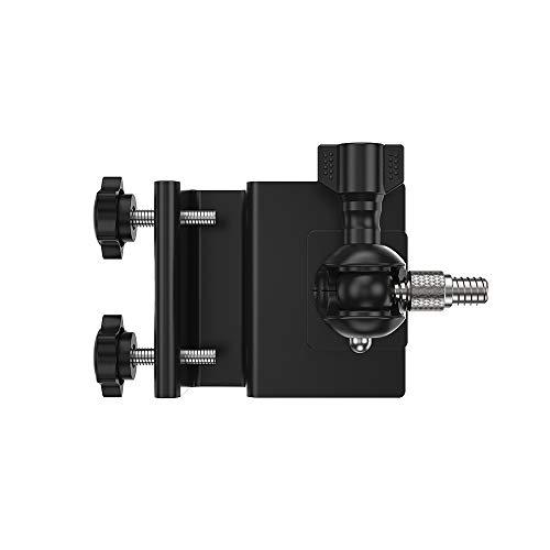 OWSOO Kamerahalterung Dachrinnenhalterung Verstellbare, 1 Pack, für Arlo HD, Arlo Pro, Arlo Pro2, Arlo Go, Arlo Ultra, WYZE-Nockenwanne, brandneue Ring-Stick-Up-Nockenbatterie, Außenbereich, Schwarz