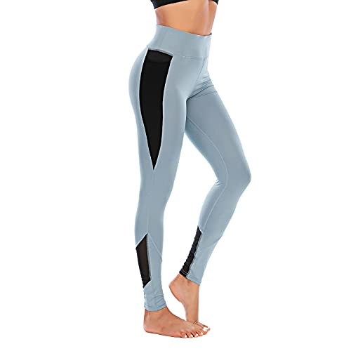 ShFhhwrl Mujer Leggins Leggings De Yoga De Cintura Alta Deporte Mujer Ropa De Fitness Pantalones Medias De Gimnasio Mujer Push UpPantalones DeMujer Leggi