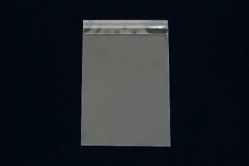 OPP袋 A5(角6) 【500枚】 50μ(0.05mm) 静電気防止処理テープ付き 折線付き 横160×縦220+フタ30mm UV印刷可(ask)