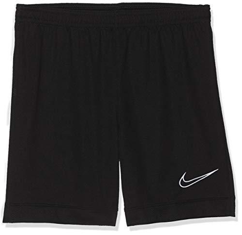 NIKE Dri- FIT Academy Shorts Pantalones Cortos,  Niños,  Negro(Black/Black/White),  M (10- 12)
