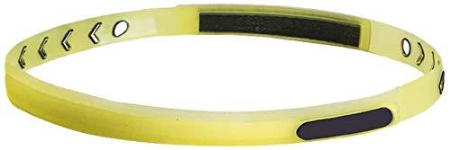 HYM Yoga en dikke, antislip elastische sportbanden, elastische siliconen handgreep, elastische haarband, voor voetbal, basketbal, voetbal, tennis, blauw