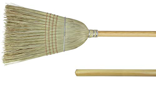 Weiler 44008 Corn Fiber Heavy-Duty Wire Banded Warehouse Broom with