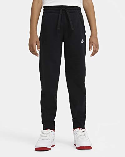 Nike Jungen Sportswear Club Fleece Jogginghose, Schwarz-Weiss, XL