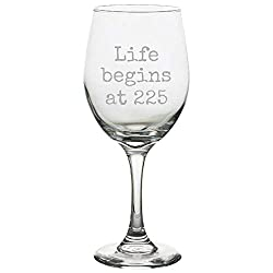 Court reporting wine glass