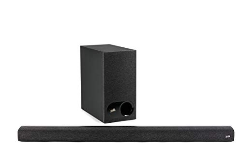 Polk Audio Signa S3 TV Soundbar mit Subwoofer, HDMI ARC, Bluetooth, Google Chromecast, 5.1 Dolby Digital Decoding, AUX, optischer Eingang