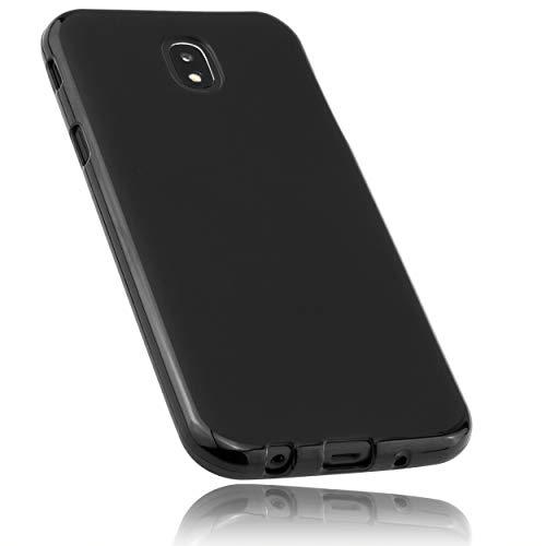 mumbi Hülle kompatibel mit Samsung Galaxy J5 2017 Handy Case Handyhülle, schwarz