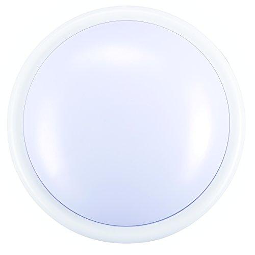 Masterplug Soft Glow LED Light Battery Operated Round Push Light, 143 x 55 mm