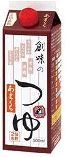 創味食品 創味のつゆ あまくち 500ml紙パック×6本入×(2ケース)
