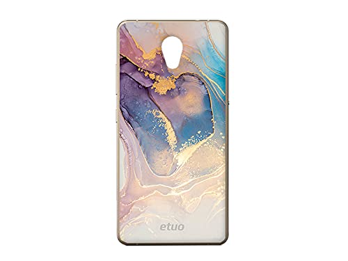 etuo Hülle für Lenovo P2 - Hülle Design Hülle - Aquarelldesign - Handyhülle Schutzhülle Etui Hülle Hülle Cover Tasche für Handy