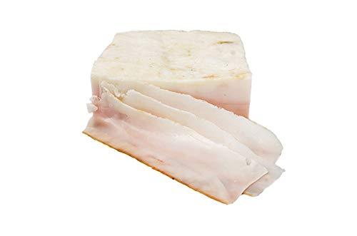 Tocino ibérico salado 5 kg, procedente de cerdos ibéricos de campo.